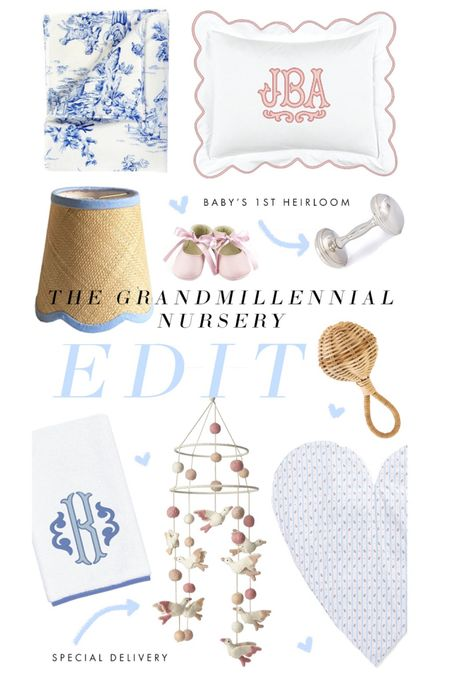 The Grandmillennial Nursery Edit is here! A few of our favorite picks for your bundle of joy, plus much more on The Glam Pad! http://liketk.it/38JRq #liketkit @liketoknow.it  #LTKbaby #LTKfamily #LTKhome