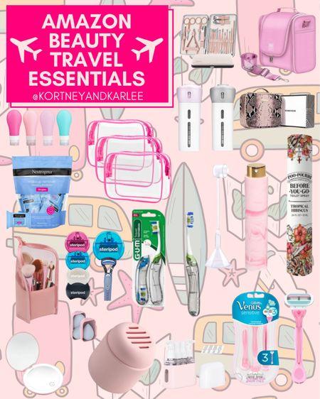 Amazon Beauty Travel Essentials!   Amazon travel favorites | travel favorites | travel essentials | travel finds | travel must haves | amazon travel finds | amazon travel essentials | amazon travel must haves | travel junkie | travel lover | beauty favorites | amazon beauty | amazon beauty favorites | amazon beauty must haves | amazon beauty finds | amazon beauty essentials | Kortney and Karlee | #kortneyandkarlee @liketoknow.it #liketkit  #LTKunder50 #LTKunder100 #LTKsalealert #LTKstyletip #LTKSeasonal #LTKtravel #LTKswim #LTKbeauty #LTKhome #LTKHoliday