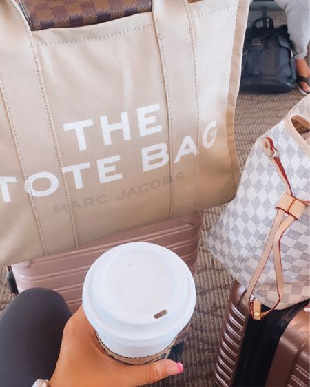 Travel favorites and luggage linked with my new Marc Jacob's travel tote and outfit @liketoknow.it #liketkit #LTKtravel #LTKstyletip #LTKunder100 http://liketk.it/3jwEb