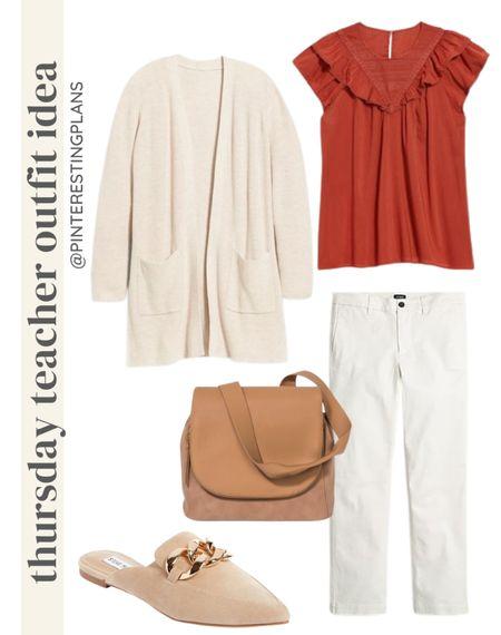 Thursday teacher Outfit idea🙌🏻🙌🏻  #LTKstyletip #LTKitbag #LTKshoecrush
