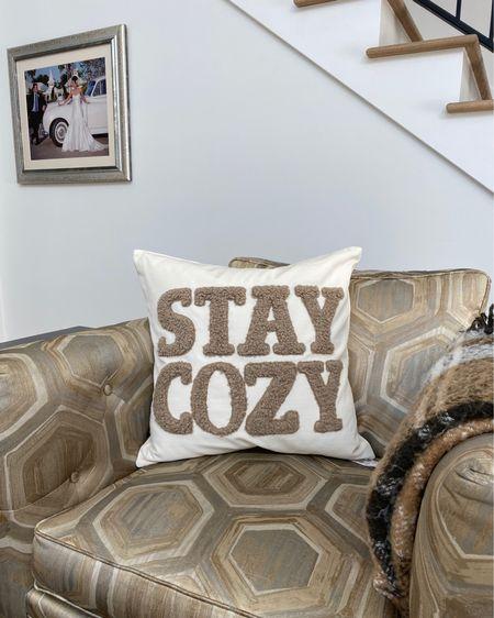 Cozy home decor from Pottery Barn @liketoknow.it #liketkit http://liketk.it/30k8f #StayHomeWithLTK #LTKsalealert #LTKhome
