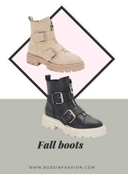 It's fall and it is time to wear and buy some awesome fall ankle boots. I love these boots so much with the buckles. Shop these and more!  #LTKSeasonal #LTKshoecrush