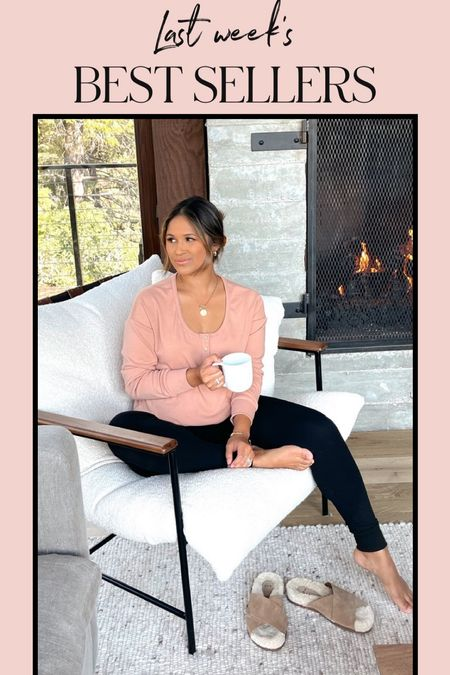 Cropped Henley that I designed with Gibsonlook look is included in my top sellers! So cozy and perfect for fall weather & comes in 3 colors! Use code: HAUTE15 at checkout for 15% OFF! #cozystyle #henley #joggerleggings #leggings #joggers #slippers #giftsforher  #LTKGiftGuide #LTKshoecrush #LTKsalealert