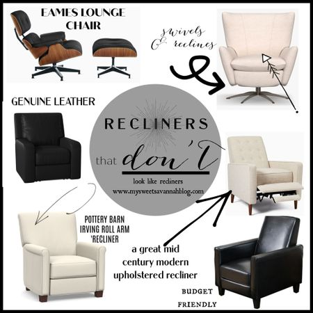 Recliners that no one will know are recliners! We have the Pottery Barn Irving one! http://liketk.it/3i9a6 #liketkit @liketoknow.it