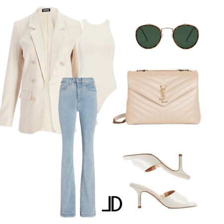 Wear-to-work  Business casual, work outfit, express blazer, express jeans, ysl lou lou bag, express mules, sandals, sunglasses, ivory bag, light wash jean, Target style, Amazon finds, Shein finds      $100 off Express!     Follow me and style with me! I am so glad and grateful you are here!🥰 @lindseydenverlife 🤍🤍🤍                        _________ #express #Leeannbenjamin #stylinbyaylin #cellajaneblog #lornaluxe #lucyswhims #amazonfinds #walmartfinds #interiorsesignerella #lolariostyle      Follow my shop on the @shop.LTK app to shop this post and get my exclusive app-only content!  #liketkit #LTKunder100 #LTKsalealert #LTKworkwear @shop.ltk http://liketk.it/3kzho  #LTKunder100 #LTKworkwear #LTKtravel