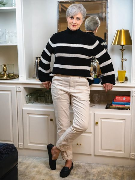 Mariner Sweater & Utility Pants.