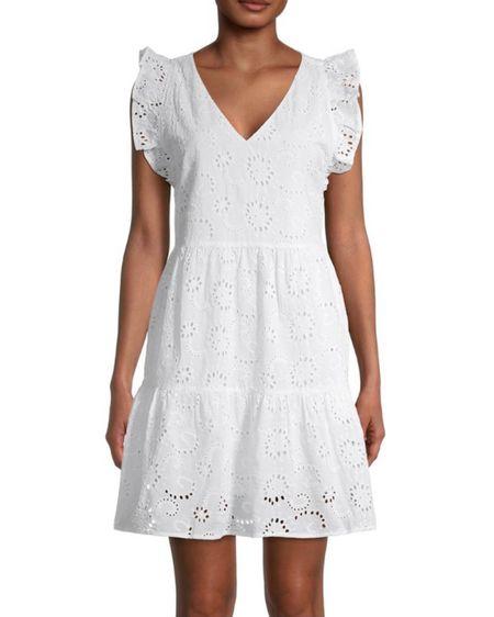 This Little white dress is only $15 . Affordable fashion #whitedress #walmartfind http://liketk.it/3jEgo #liketkit @liketoknow.it #ltksummer