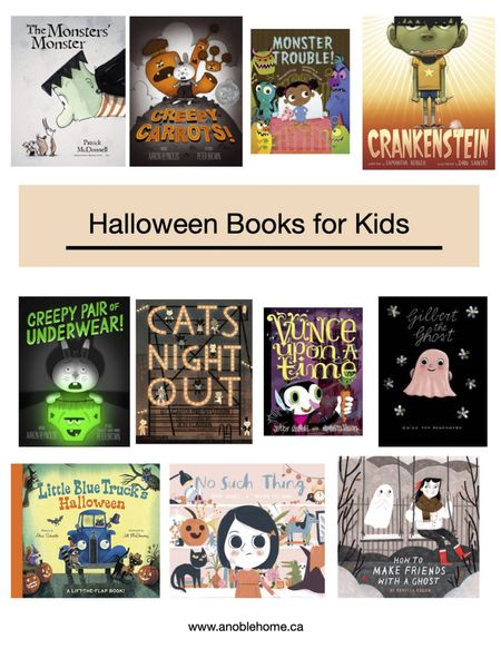 Favourite halloween books for kids. http://liketk.it/3phmp @liketoknow.it #liketkit