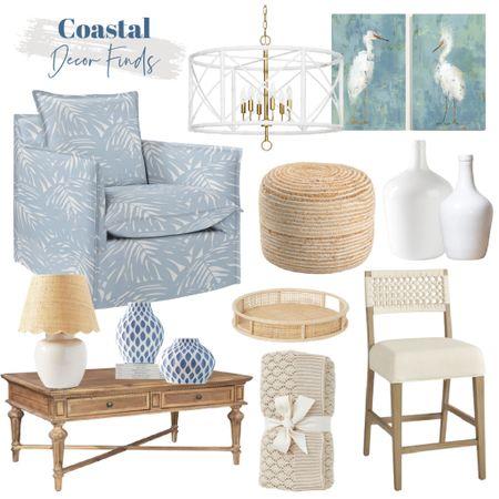 Coastal blues and whites…    #LTKunder100 #LTKstyletip #LTKhome