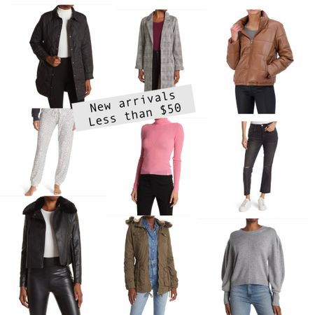 New arrivals in jackets and fall clothes all less than $50   #LTKstyletip #LTKsalealert #LTKunder50