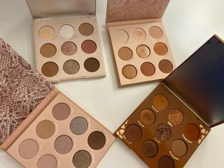 Indulging in new eyeshadow for my fall makeup looks. 🍂🍁 These gorgeous palettes make the perfect gift for an amazing price!   #LTKbeauty #LTKGifts #LTKSeasonal