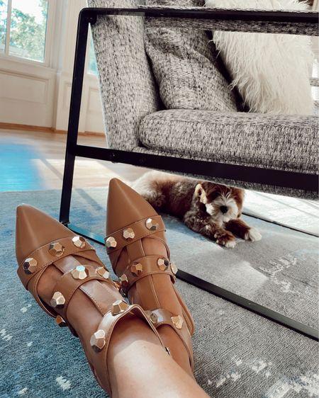 Stud sandals $32!! #liketkit http://liketk.it/3hNlg @liketoknow.it