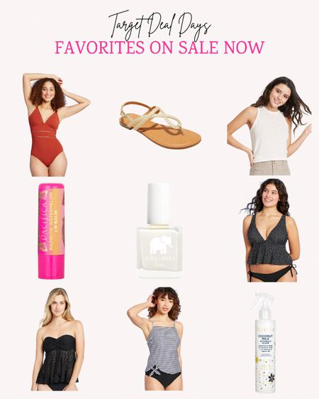 These are some of the favorite Target items this season and they are all on sale right now.   Follow me for more ideas and sales.   Double tap this post to save it for later.   #LTKswim #LTKunder50 #LTKsalealert