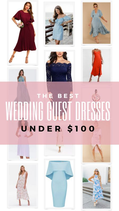 Best wedding guest dresses under $100. Summer dress, beach dress, formal dress, floral dress, maxi dress, lace dress. Red Dress, Pink Lily, Amazon find, Amazon fashion, Forever 21, Target. http://liketk.it/3fIxL @liketoknow.it #liketkit #LTKunder100 #LTKwedding #LTKtravel #LTKworkwear
