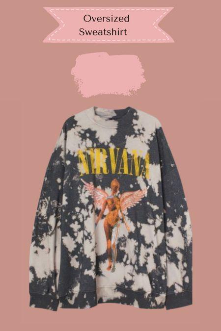 Oversized sweatshirt on sale   #LTKsalealert #LTKSale #LTKstyletip