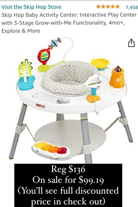 http://liketk.it/3i5zx #liketkit @liketoknow.it Kamp's little bouncer is on sale for #primeday! He LOVES it 💙 #LTKbaby #babymusthaves #baby