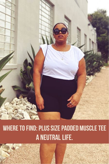 Wanna amp up your spring outfit? Grab a few padded muscle tees. You can dress them up for a business casual look, or dress them down and wear them on your spring break vacations. I've rounded up some affordable plus size options for you.  #LTKstyletip #LTKSeasonal #LTKunder50