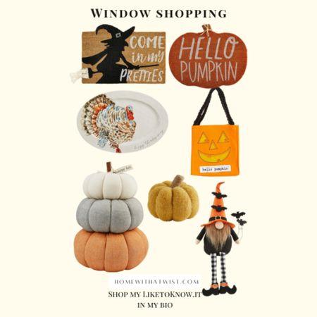 Shopping for some halloween goodies at Dillards.   #LTKhome #LTKfamily #LTKSeasonal