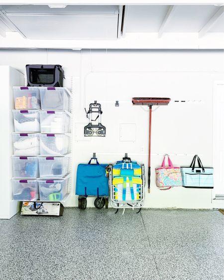 Elfa is on Sale again! Check out the Elfa systems for your garage!! || #garageorganization #garage #elfa  #LTKhome