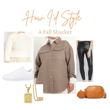 Happy fall y'all!🍁 just sharing a little outfit of how I would style this fall shacket!! This jacket is perfect for all my plus size ladies who love eloquii🧡   #LTKcurves #LTKSeasonal #LTKSale