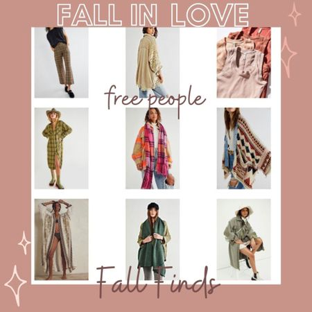 Fall in love…. Fall finds from #freepeople!  Here's what I am eyeing and in my cart from free people!  Perfect for Fall 🍂🍁🍂 . Styling these piece and using for layers will be a breeze!  Great pieces for Holiday gifts as well!   #LTKGiftGuide #LTKstyletip #LTKSeasonal