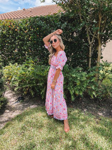 Cover me in Sunshine and all the pretty pink floral prints! Keys trip is back on heading down tomorrow and I am so ready! 🌸☀️    http://liketk.it/3j43B @liketoknow.it #liketkit #LTKbeauty #LTKunder50 #LTKstyletip