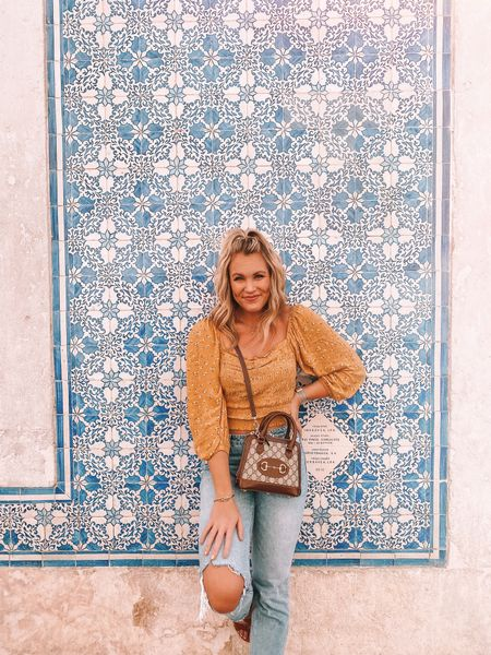 Mondays are more fun when you're on vacation 😏 but I'm finally caught up on my work to-do list several weeks after getting home from Portugal. I have to say, it feels good to be on top of everything again!   My top is an AE find and I love it! Linking it here with LTK   #LTKeurope #LTKtravel