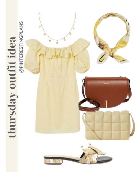 Thursday Outfit idea🙌🏻 http://liketk.it/3hYbz @liketoknow.it #liketkit #LTKstyletip #LTKunder50 #LTKshoecrush