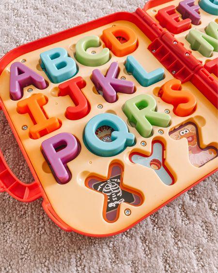One of my favorite learning toys that Bennett has. You can take it on-the-go and it's a fun way to learn the alphabet!   #LTKkids #LTKunder50   http://liketk.it/3fpXm   #liketkit @liketoknow.it