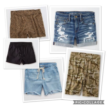 I've also learned to just embrace the shorts this summer. I used to HATE them but this summer, in this heat, I'm choosing to let go of my leg insecurities and just be comfortable! Shorts are BOGO right now too!! That's bike shorts, beach shorts, denim shorts, lounge shorts, boyfriend shorts, ALL SHORTS!   http://liketk.it/2RNAW #liketkit @liketoknow.it #LTKsalealert