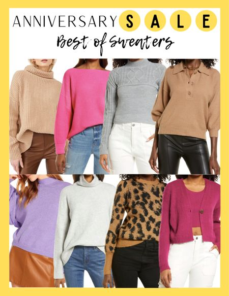Nordstrom Anniversary Sale Sweaters  #LTKsalealert