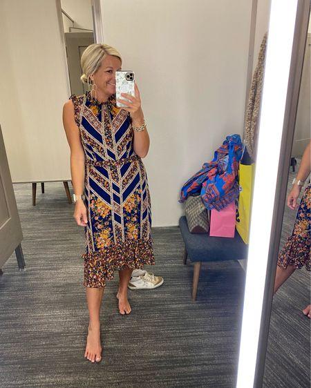 Such a fun dress for the fall season! http://liketk.it/3jDu6 @liketoknow.it    #liketkit #LTKsalealert #LTKworkwear #LTKstyletip