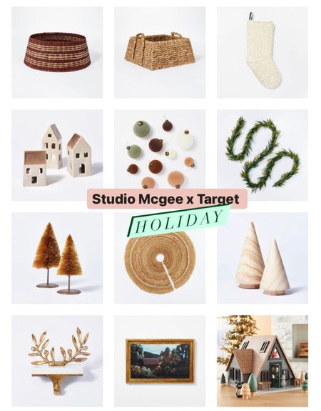 Studio Mcgee x Target Holiday collection is live and it's gorgeous!! Also added a cute magnolia A-frame 🖤  #LTKHoliday #LTKGiftGuide #LTKSeasonal