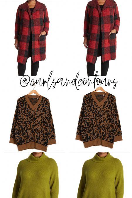 Plus size fall sweaters from Nordstrom Rack!   #LTKunder50 #LTKcurves #LTKSeasonal