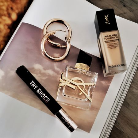 In love with my @yslbeauty collection #YSLBeautygiftedme 😍 Added the popular YSL All Hours Foundation and The Shock Volumizing Mascara. Have you tried the #IAMLIBRE YSL perfume yet? My absolute favorite perfume at the moment! Shop your screenshot of this pic with the LIKEtoKNOW.it app http://liketk.it/2G4Mx @liketoknow.it #liketkit
