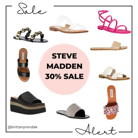 Steve Madden extra 30% sale  Summer sandals  Sandal sale    #LTKsalealert #LTKunder100 #LTKtravel