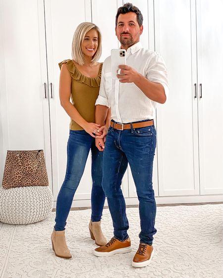 Nordstrom anniversary sale fall couples his & hers outfits ideas   http://liketk.it/2UVQH   #liketkit @liketoknow.it #LTKunder50 #LTKsalealert #LTKmens