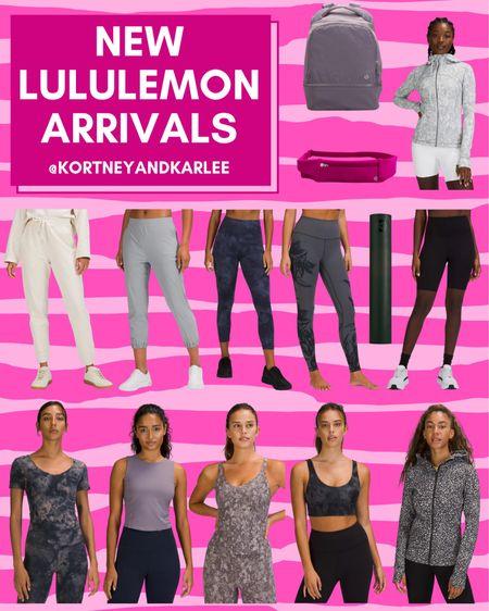 New Lululemon arrivalas!  New Lululemon arrivals | Lululemon leggings | lululemon sports bra | lululemon tank | lululemon shorts | lululemon sweatshirt | lululemon top | lululemon shirt | Kortney and Karlee | #kortneyandkarlee #LTKunder50 #LTKunder100 #LTKsalealert #LTKstyletip #LTKSeasonal #LTKtravel #LTKfit @liketoknow.it #liketkit