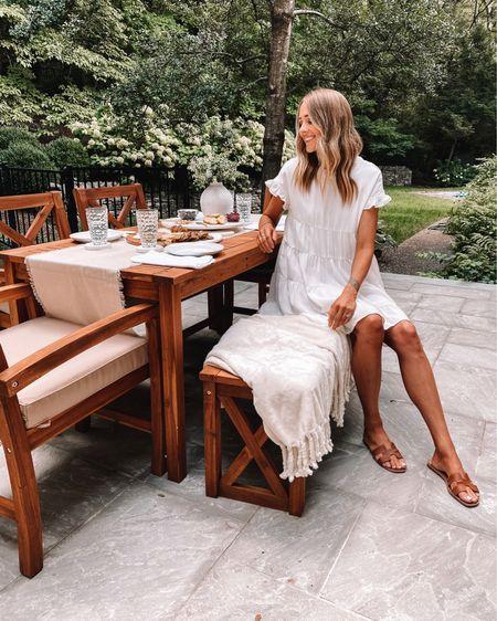 Ready for entertaining on the patio! #homedecor #patiofurniture #outdoorfurniture #amazonfashion #amazonfinds http://liketk.it/3hxbw #liketkit @liketoknow.it #LTKunder50 #LTKunder100 #LTKhome