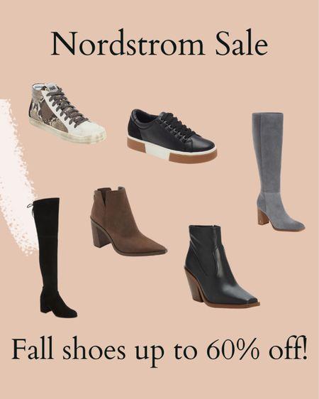 Nordstrom fall shoes up to 60% off  #LTKSeasonal #LTKshoecrush #LTKsalealert