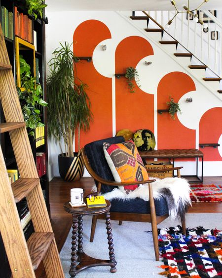 Shop this colorful maximalist entryway http://liketk.it/35SCj #liketkit @liketoknow.it @liketoknow.it.home Shop your screenshot of this pic with the LIKEtoKNOW.it shopping app #LTKhome #LTKstyletip #LTKunder100
