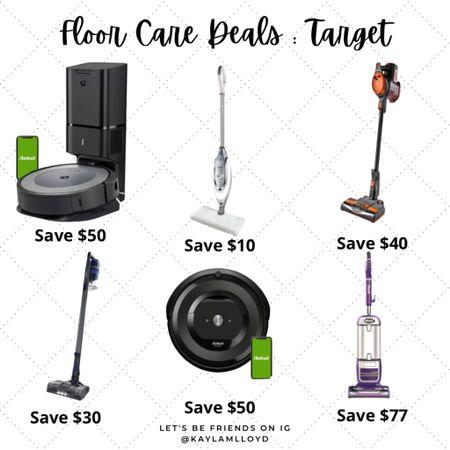 Floor care deals at Target! // Sale // http://liketk.it/3fgWG @liketoknow.it #liketkit #LTKsalealert #LTKhome #LTKfamily