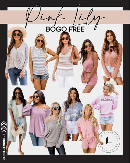 BOGO free at Pink Lily right now! So many cute fall outfit pieces.   #LTKunder50 #LTKstyletip #LTKsalealert