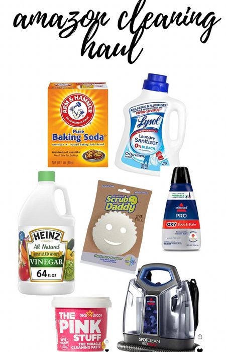 Cleaning products from amazon  #LTKhome #LTKunder50