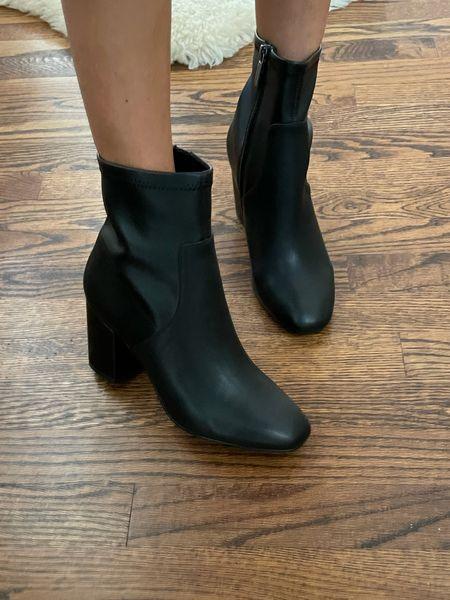 Black boots size 7   #LTKunder100 #LTKshoecrush