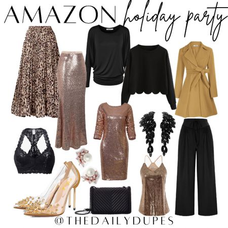 Amazon Holiday Styles #thedailydupes  #LTKHoliday #LTKshoecrush #LTKGiftGuide