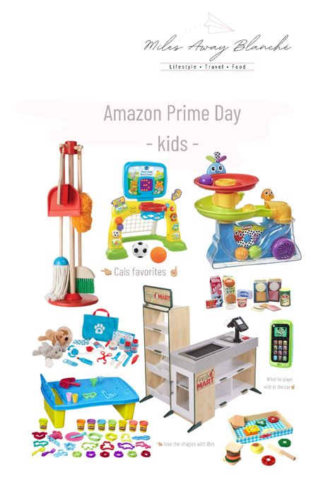 Amazon prime day deals! Kids toys on sale - Cal loves the cleaning set & the basketball/soccer combined toy! His phone is his favorite thing to play with during car rides as well 💛 http://liketk.it/3i4Zg #liketkit @liketoknow.it #LTKbaby #LTKkids #LTKsalealert