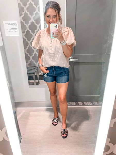 Summer tops. Target finds. Target mom   #LTKstyletip #LTKunder50 #LTKSeasonal