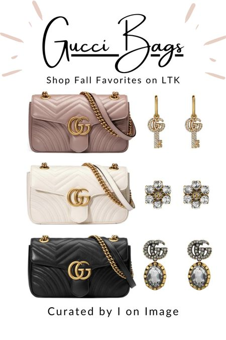 Insanely popular designer bag style: Gucci GG-logo Marmont small matelassé shoulder bag with chain strap 👜  Available in dusty pink, white and black -and MORE 💗🤍🖤  Chain bag, chic bag, stylish bag, ladylike bag, Gucci bag, designer bag, logo bag, structured bag, multiway bag, chevron bag, quilted bag, Gucci Marmont #LTKfashion #LTKeurope #gucci  #LTKstyletip #LTKitbag #LTKworkwear