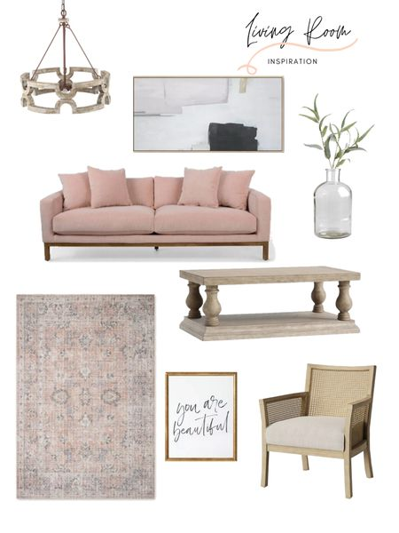 Living room home decor! I am loving this beautiful sofa as a statement piece to this living room home inspiration. The coffee table, accent chair and area rug balance out this overall design. Shop the look: http://liketk.it/3hwxg #liketkit @liketoknow.it @liketoknow.it.home @liketoknow.it.family #LTKstyletip #LTKhome #LTKfamily